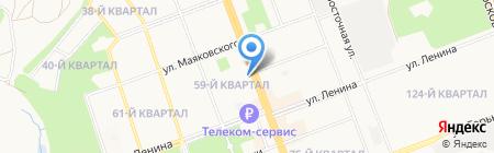 Департамент ЖКХ и строительства на карте Ангарска