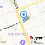 Geox на карте Ангарска