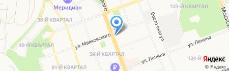 Ecco на карте Ангарска