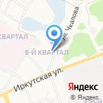 Ангарский автотранспортный техникум на карте Ангарска