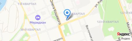 Станция юных техников на карте Ангарска