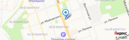 Мастерская по ремонту часов на карте Ангарска