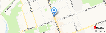 Банкомат Восточный экспресс банк на карте Ангарска
