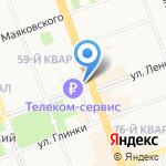 Центр ремонтно-строительных услуг на карте Ангарска