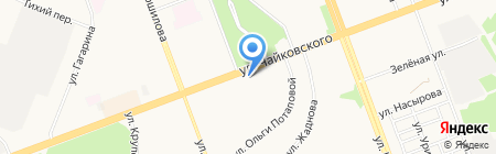 Слата на карте Ангарска