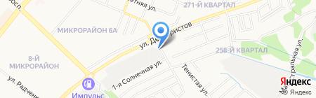 Ферум на карте Ангарска