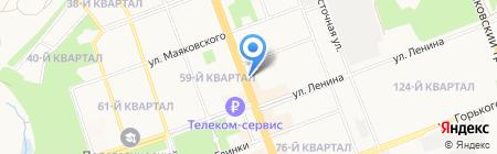 Л`Этуаль на карте Ангарска