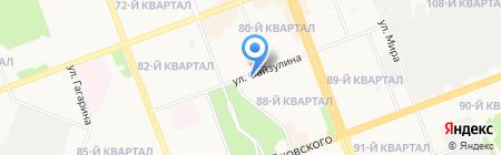 Стиляга на карте Ангарска