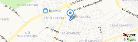 Домашний очаг на карте Ангарска