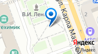 Компания Стеклографика на карте