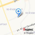 Танго на карте Ангарска