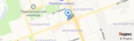 Irknet Telecom на карте Ангарска