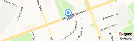 Виноград на карте Ангарска