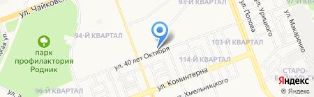 У на карте Ангарска