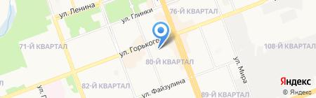 Детский сад №18 на карте Ангарска