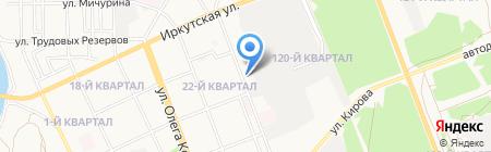 Белье для всей семьи на карте Ангарска