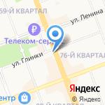 Городская стоматологическая поликлиника на карте Ангарска