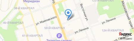 БизнесКласс Елены Ростовской на карте Ангарска