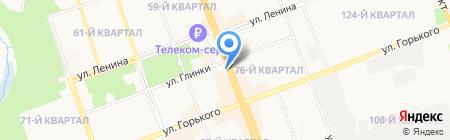O`stin на карте Ангарска