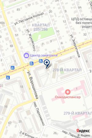 Медиа-Квартал на карте Ангарска