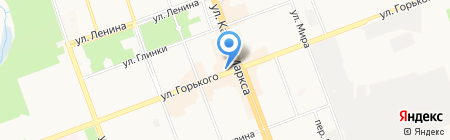 Райт на карте Ангарска