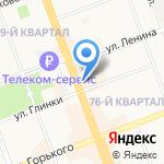 Банк Русский стандарт на карте Ангарска
