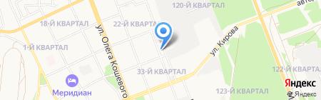 Детский сад №90 на карте Ангарска