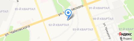 Детский сад №67 на карте Ангарска