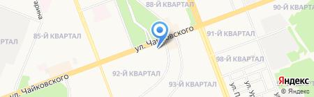 Адрес`ОК на карте Ангарска