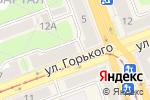 Схема проезда до компании Джинсовый АМБАР в Ангарске