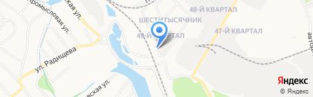 Шишечка на карте Ангарска