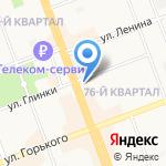 Сбербанк на карте Ангарска