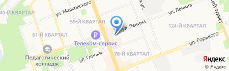 Sela на карте Ангарска