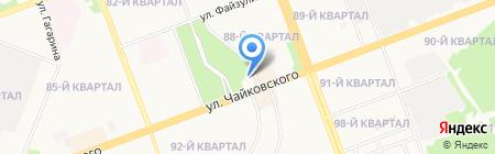 Color City на карте Ангарска