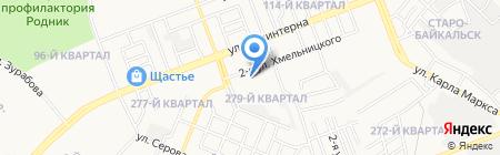 Ангарский онкологический диспансер на карте Ангарска
