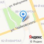 Звезда Байкала на карте Ангарска