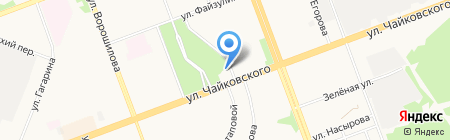 Принц на карте Ангарска
