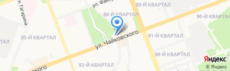 Ювелирная мастерская на ул. 87-й квартал на карте Ангарска