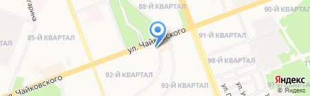 Арахна на карте Ангарска