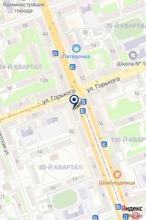 Джинн на карте Ангарска