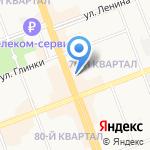 Мисс на карте Ангарска