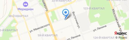 АвтоВик на карте Ангарска