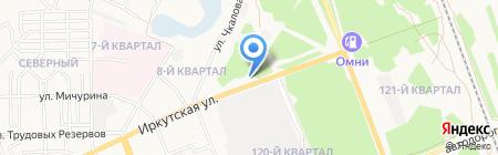 АЗС Полюс на карте Ангарска