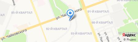 Транспортная компания на карте Ангарска