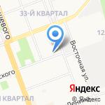 Азия Синема-Сибирь на карте Ангарска
