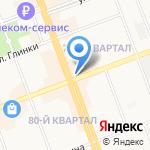 МегаФон на карте Ангарска
