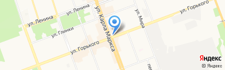 Помощник на карте Ангарска