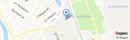 Автосервис на ул. Автоматики пер на карте Ангарска