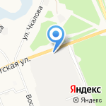АзияАвтоЗапчасть на карте Ангарска