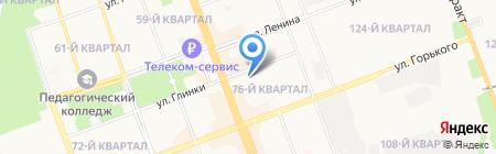 Детский сад №22 на карте Ангарска